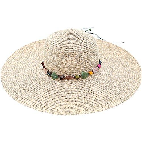 7309a0162032e Joyebuy Sombrero Grande De Ala Ancha Para Mujer Sombrero De ...