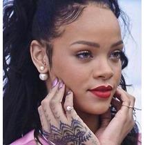Aros Perla Full Moda !!! Rihanna, Belleza Labial Maquillaje