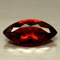 Granate Rojo Natural Marquise 6,6 X 13,8 4,6 Mm