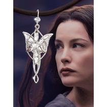 Collar Arwen Princesa Elfa Estrella De La Tarde Evenstar
