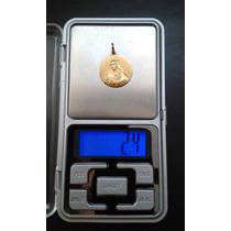 Colgante De Oro Amarillo 18k, 2,4 Gr.