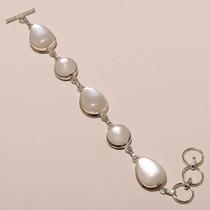 Pulsera Plata Madre Perla