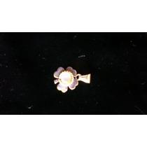 Colgante De Plata/nácar -diseño Flor