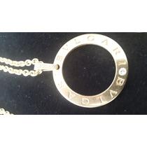 Collar Bvlgari Oro Y Diamante Unico En Chile Oportunidad