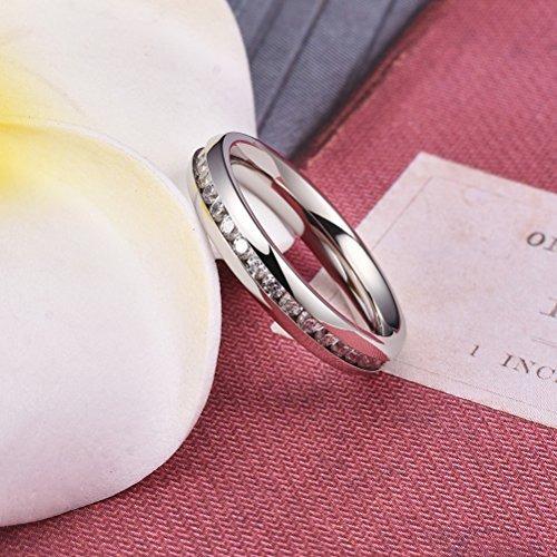 joyería anillo titanio