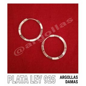 0d7d7daeb8ce Argollas Diamantadas De Plata Peque A en Mercado Libre Venezuela