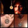Collar Dije Cadena Moneda Azteca Piratas Del Caribe