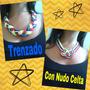 Collares Y Pulseras De Tela De Venezuela