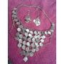 Collar De Monedas Plateado Para Danza Arabe Bellydance