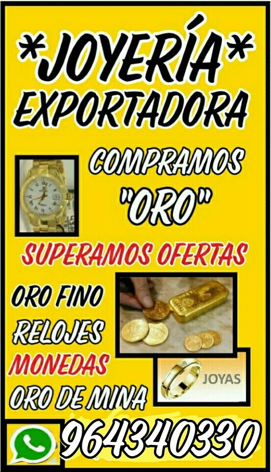 9188d50cdee5 Joyeria Compra Venta De Oro En Joyas Oro De Rio Oro X Gr. - S  953 ...