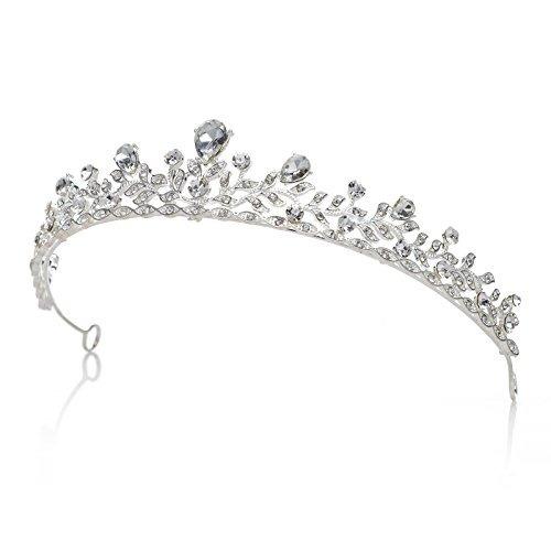 joyería cristalina brillante sparkly del pelo de la boda de