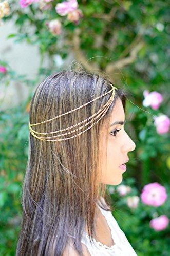 joyería de nayna - cadena de oro cubierta de la cadena de l