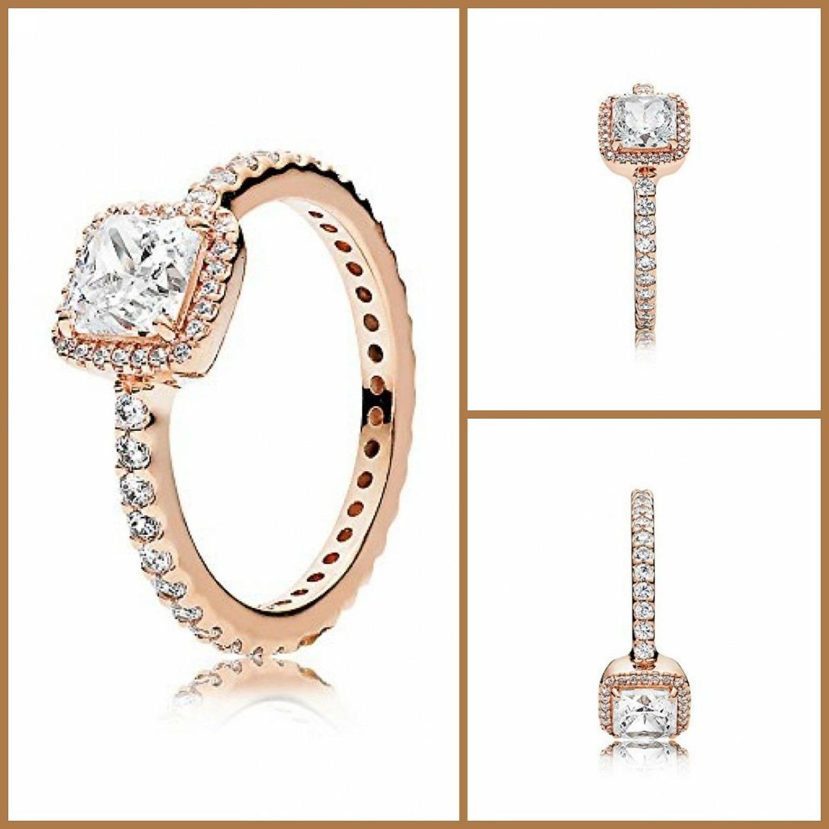 89587da4cdf2 elegancia atemporal anillo anillos de la joyería de oro rosa. Cargando zoom.