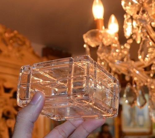joyero antiguo de cristal
