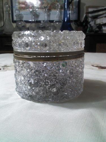 joyero bombonera de cristal