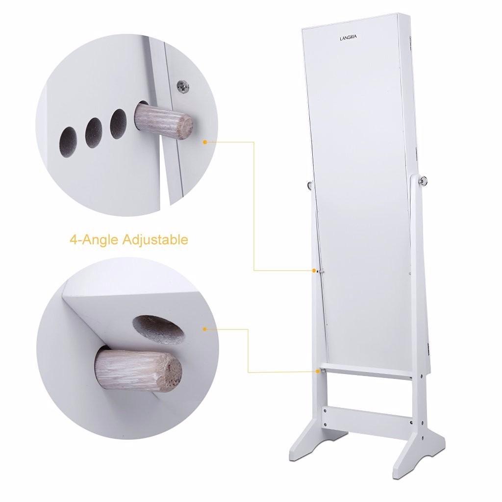 Adesivo De Parede Arvore Com Folhas Caindo ~ Joyero Organizador Armario Espejo Alhajero Madera Blanco $ 4,599 99 en Mercado Libre