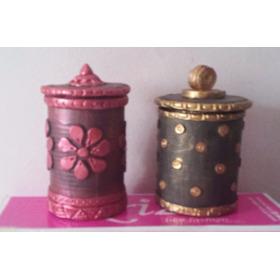 Joyeros Artesanales De Material Reciclado
