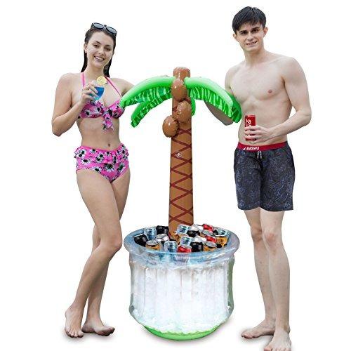 joyin 60 inflable árbol de la palma de la nevera fiesta del