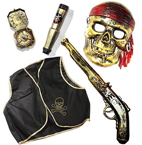 joyin juguete del pirata de halloween del traje de juguete