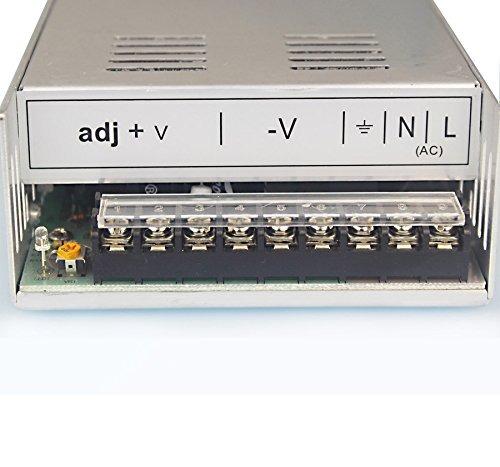 Fuente de alimentaci/ón de conmutaci/ón 12V 50A Transformador de convertidor de CA /à CC para electr/ónico Electrodom/ésticos m/áquina de freno Motor de pasos CNC de automatizaci/ón industrial y m/ás