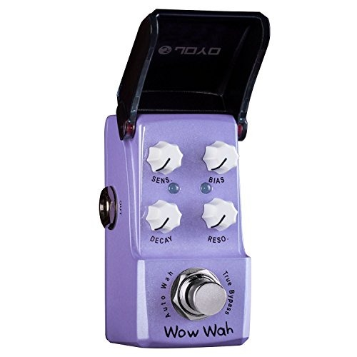 Wah Wah Autom/ático mini Pedal De Efectos De Guitarra Ironman JOYO JF-322 Wah-wah