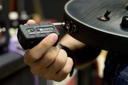 joyo jw-01 2.4ghz audio wireless digital guitarra transmisor
