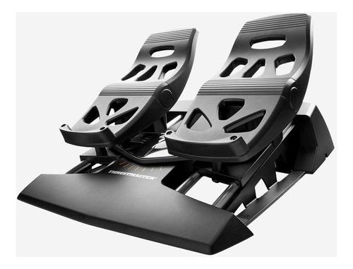 joystick acelerador pedal simulador vuelo pc thrustmaster