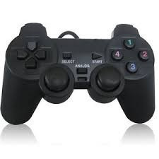 joystick analógico usb para pc con vibración dualshock