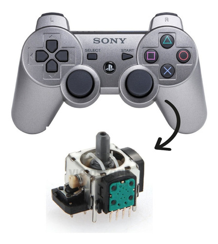 joystick analogo alps original stick control sony ps3 4pin