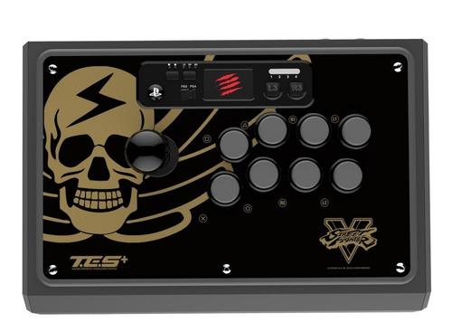 joystick arcade mad catz street fighter v tes p/ ps4 y ps3