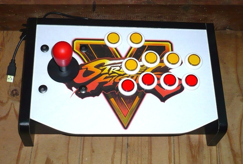 joystick arcade para pc y ps3, con imagen