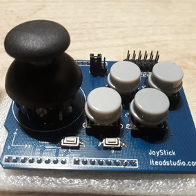 Joystick Arduino Raspberry 5v 3,3v 6 Botones Retro Consola