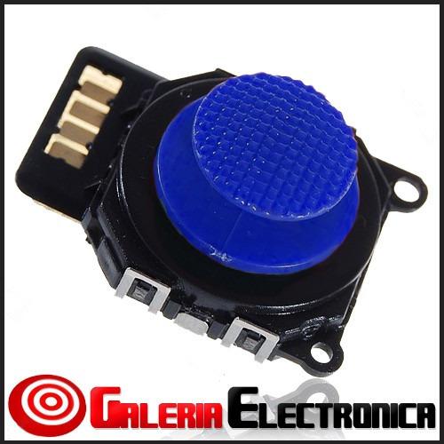 joystick azul psp slim 2000 mando cursor boton palanca