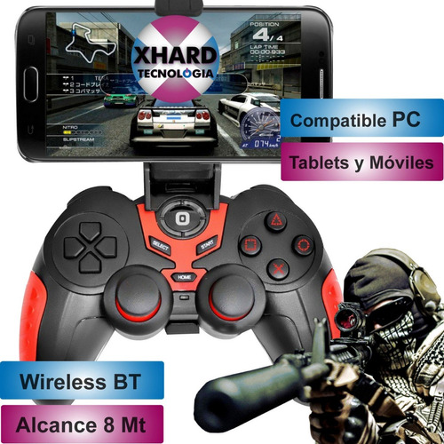 joystick bluetooth para pc celulares android panacom gm8152