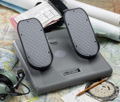 joystick ch pro pedals - ch pedais aviação + nf + garantia