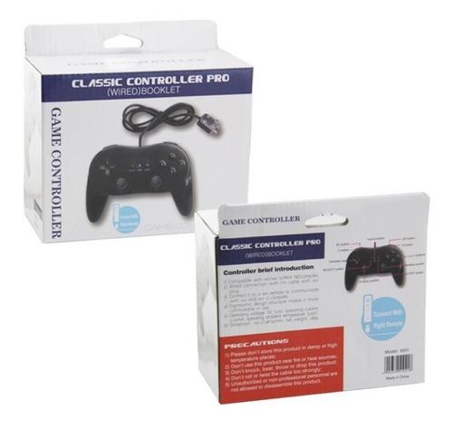joystick compatible nintendo wii accesorio clásico juegos