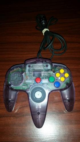 joystick de nintendo 64 original nintendo funcionando!!!