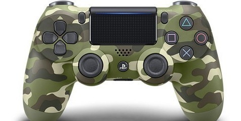 joystick dualshock 4 camuflado ps4