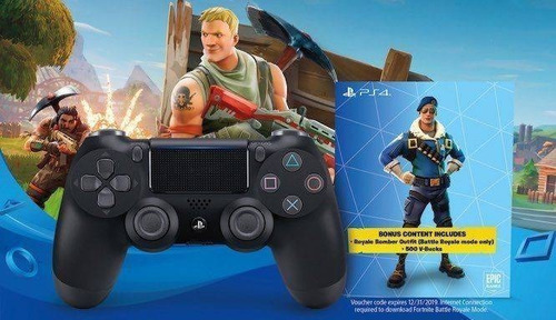 joystick dualshock 4 fortnite bonus content bundle ps4