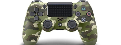 joystick dualshock camuflado ps4