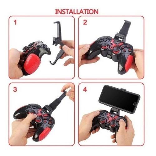 joystick gamepad bluetooth tablet celular ps3 pc gtc