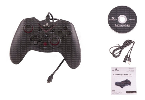 joystick gamepad control gamer pc usb ultra itienda