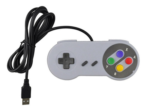 joystick gamepad control tipo snes usb pc raspberry android