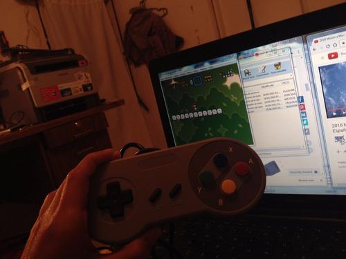 joystick gamepad control usb snes compatible para pc arduino