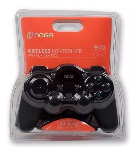 joystick gamepad inalambrico ps3 ps2 pc 2 stick 12 botones