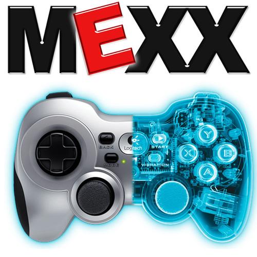 joystick gamepad pc inalámbrico logitech f710 usb mexx 4