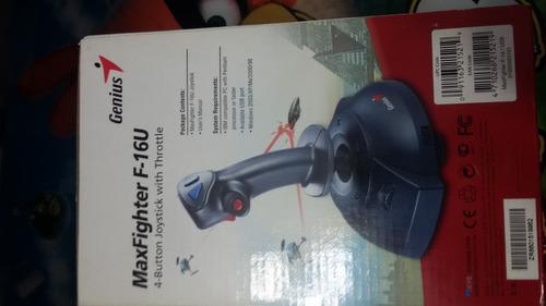 joystick genius maxfighter f-16u