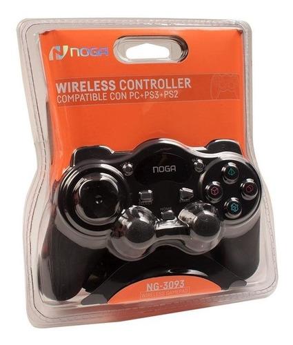 joystick inalámbrico 3093 a pilas pc playstation 2 y ps3