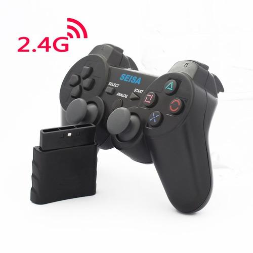 joystick inalambrico para ps2 recargable sj-817 en blister