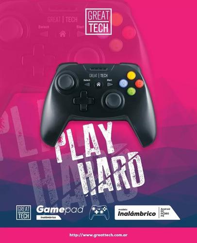 joystick inalámbrico, playstation 3, android, pc dj